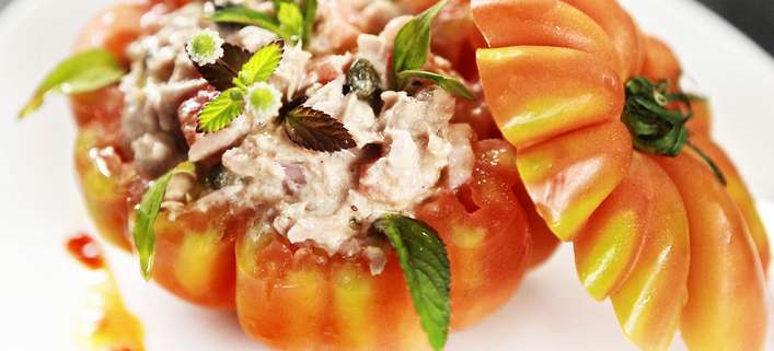 Tomate / Thunfisch