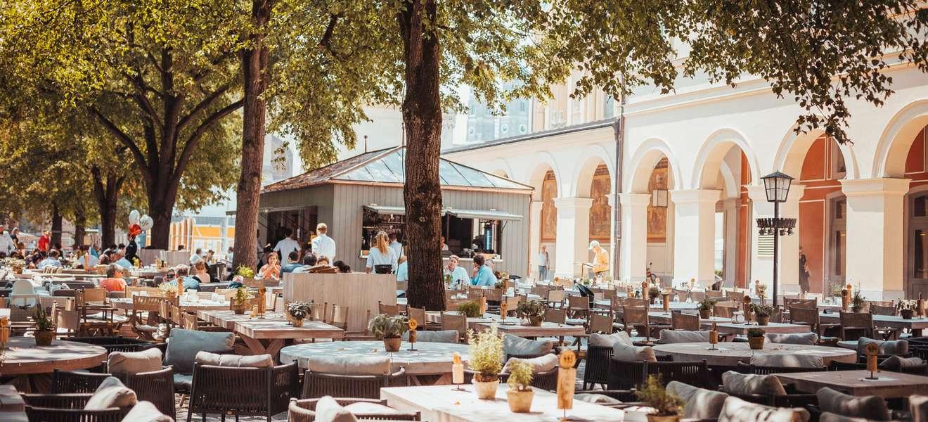 München Top 20 Terrassen zum Essen im Freien   Falstaff