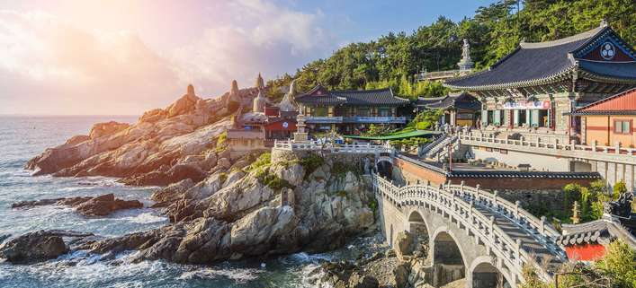 Unter den Top-Destinationen: Südkorea