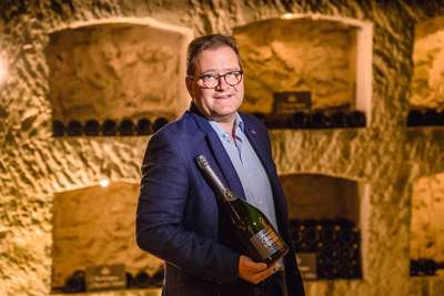 Cyril Brun, Chef de Cave Charles Heidsieck.