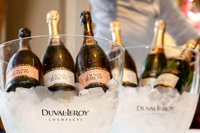 Champagne Duval Leroy.