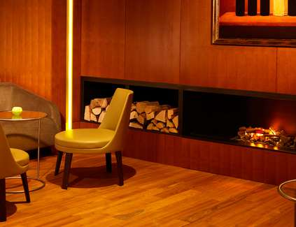 Smokers Lounge im Hyatt Hamburg