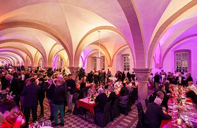 Welcome-Party im Kloster Eberbach © Holger Peters