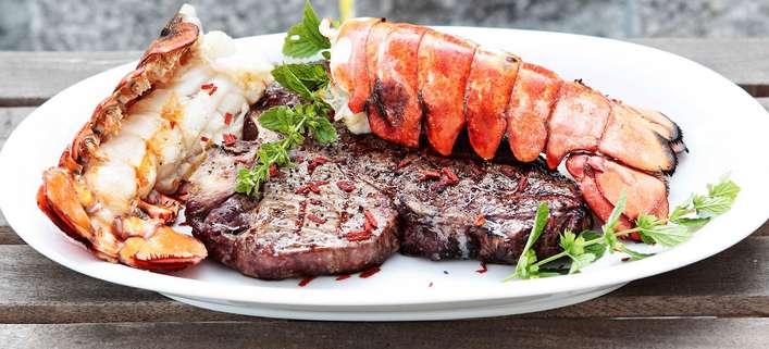Porterhouse Steak Dry-Aged / Lobster / BBQ
