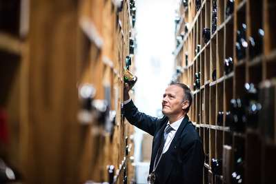 Bester internationaler Botschafter: Aldo Sohm, Aldo Sohm Wine Bar im Le Bernadin, New York City, USA