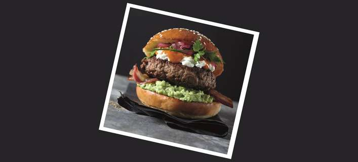 Beef New York Burger